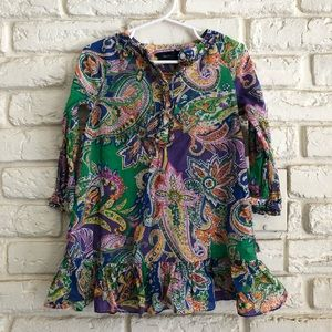Ralph Lauren Paisley Dress